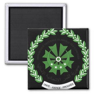comoros seal square magnet