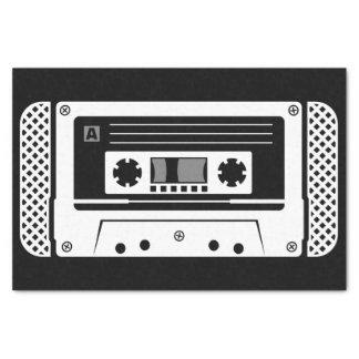 Compact cassette tissue paper