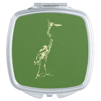 Compact, Color Green Makeup Mirrors