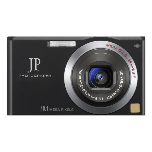 Compact  Digital Camera Photographer Business Card