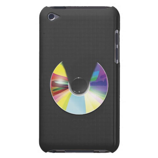 Compact disc iPod touch case