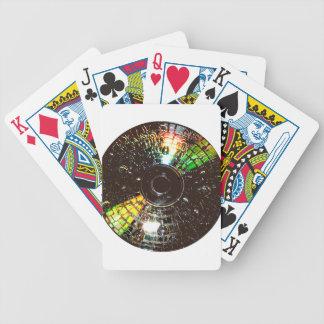 Compact Disco Poker Deck