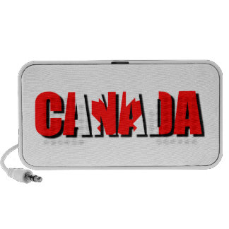 Compact External Speaker with Canada Logo