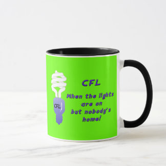 Compact Fluorescent Light Bulbs (CFL's)  Mug