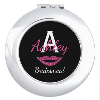 Compact Mirror - Personalized Bridal Party Gift