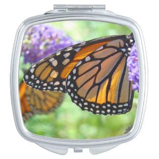 Compact Mirrors Monarch Butterflies Monarchs