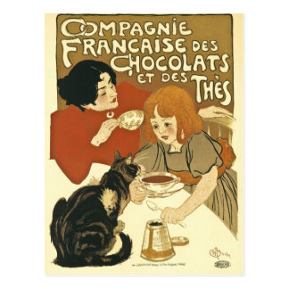 Compagnie Chocalats Vintage Advertisement French Postcard