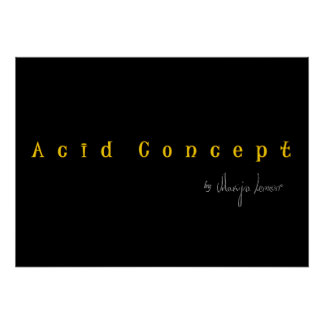 Company Acid Concept Posters