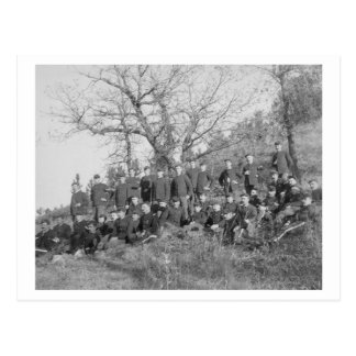 Company C, 3rd US Infantry at Fort Meade Postcard