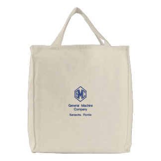 Company Logo Embroidered Bag