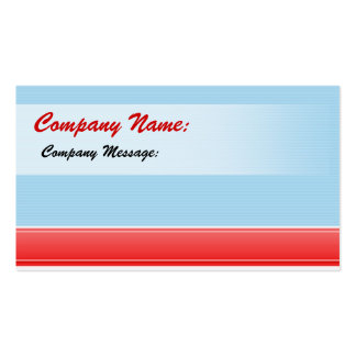 Company Name business card
