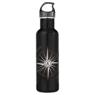Compass and Blade Water Bottle 710 Ml Water Bottle