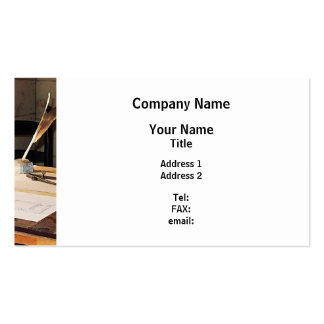 Compass and T-Square Business Cards