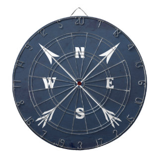 Compass arrows dartboard