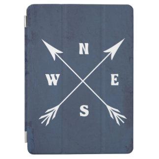 Compass arrows iPad air cover