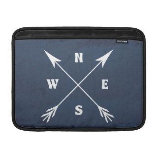 Compass arrows MacBook sleeve