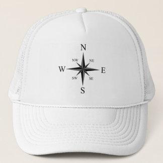 Compass arrows trucker hat