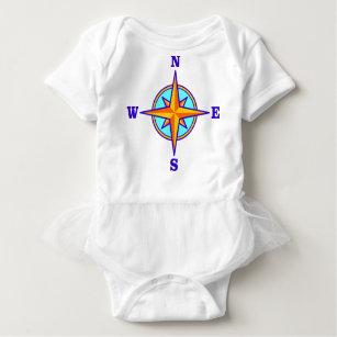 Compass Baby Bodysuit