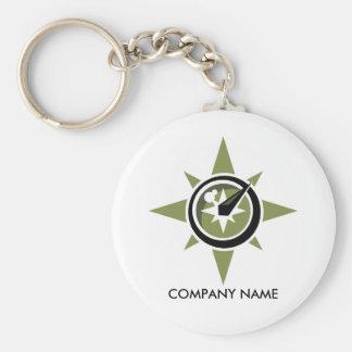 Compass Customizable Keychain