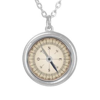 Compass Design Necklace