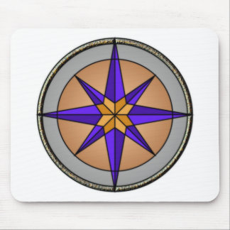 Compass Graphic Mouse Pad