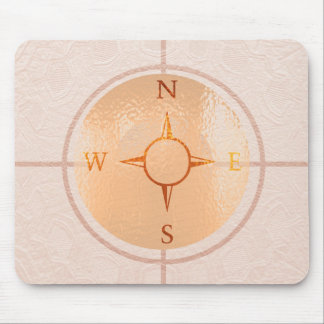 COMPASS NEWS North East West South Mouse Pad