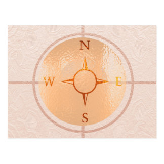 COMPASS NEWS North East West South Postcard