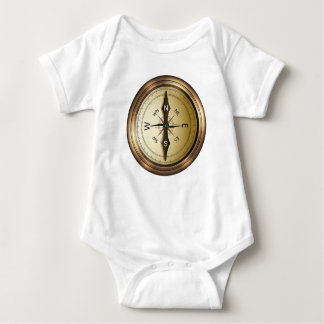 Compass North South East West Baby Bodysuit