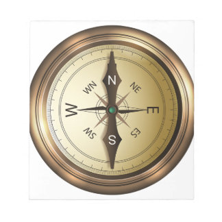 Compass North South East West Notepad