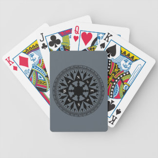 Compass Rose #2 Bicycle Playing Cards