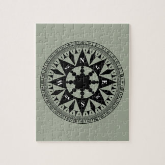 Compass Rose #2 Jigsaw Puzzle