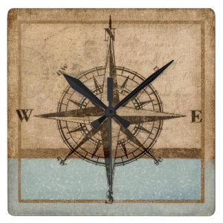 compass rose clock 1,  Copyright Karen J Williams
