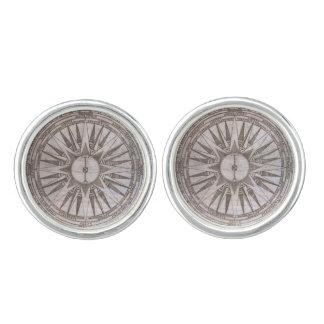 Compass Rose Cufflinks