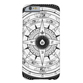 Compass Rose - iPhone 6 case (White) Barely There iPhone 6 Case