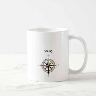 Compass Rose Logo Coffee Mug