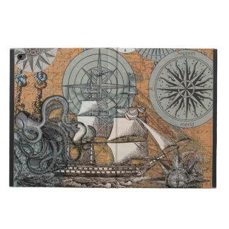 Compass Rose Vintage Nautical Octopus Ship Art Powis iPad Air 2 Case