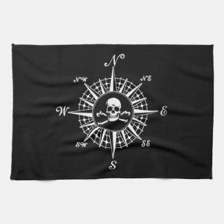 Compass Skull Towel