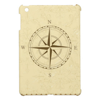 compass vintage south west east iPad mini cover
