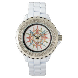 compass/wind rose watch