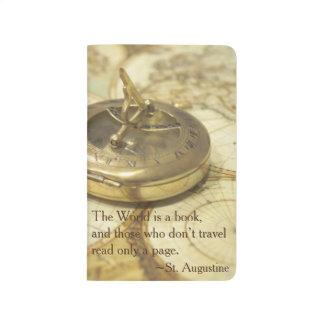 Compass World Travel Map Journal