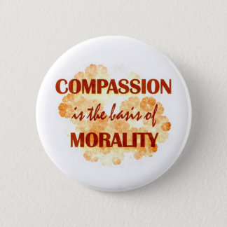 Compassion 6 Cm Round Badge