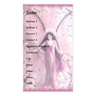 Compassion Angel, template Pack Of Standard Business Cards