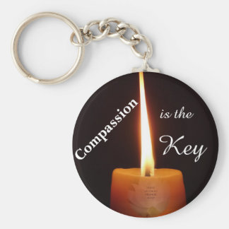 Compassion is the Key - SGI Keychain