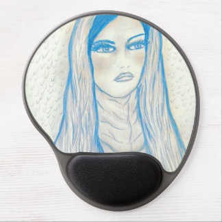 Compassionate Mary - Blue Tones Gel Mousepads