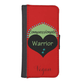 Compassionate Warrior iPhone SE/5/5s Wallet Case