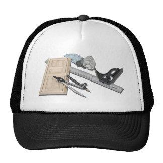 CompassRulerDoorKnobTools021411 Trucker Hat