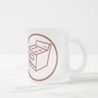 competent in fixing household appliances frosted glass mug