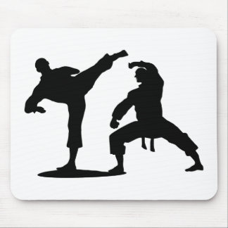 competitive athlete black mouse pad