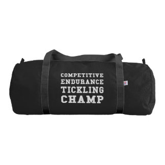 Competitive Endurance Tickling Champ Gym Bag