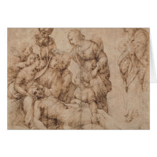 compianto del cristo by Raffaello Sanzio da Urbino Card